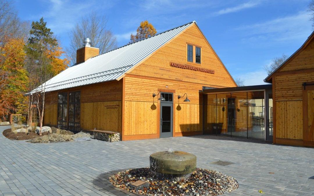 Knobloch Family Farmhouse on Heckscher Farm of Stamford Museum & Nature Center